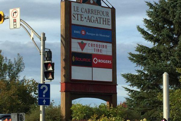 Le Carrefour Sainte-Agathe-des-Monts (QC)